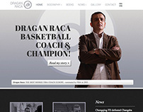 Dragan Raca - visual identity and website design