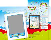 """Дизайн упаковки для детского планшета """"BabyPad"""""""
