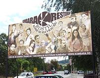 Billboard - Kumbara restaurant