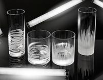 CHEF & SOMMELIER - NEON GLASSES
