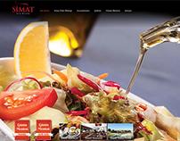 Simat Türk Mutfağı Website