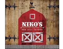 Niko's Red Mill Tavern (dine in menu)