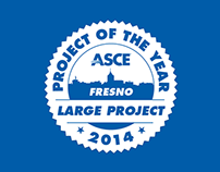ASCE Fresno Branch - Award Badge