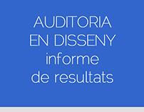 JMDM informe de resultats de l'auditoria en disseny