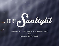 Fortsunlight Motion Graphics & Animation Reel 2014