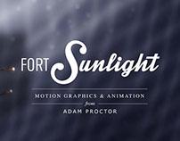 Fortsunlight Motion Graphics & Animation Reel 2014