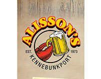 Alisson's (take-out menu)