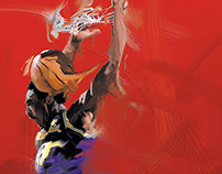 Kobe young Dunk
