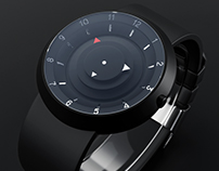Vsion Watch - Black - 3D Model