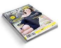 Regular Life Magazine Template - 40 Pages
