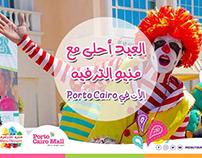 Menutainment + porto cairo Campaign
