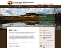 WordPress Website Design - Friends of Willamette Valley