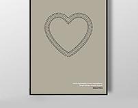 Design simple, intense content.