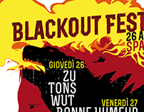 POSTER FESTIVAL RADIO BLACKOUT