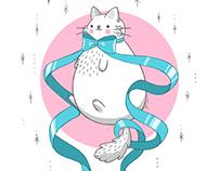 Illustration: Magical cat