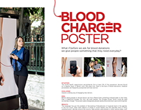 BLOOD CHARGER POSTER (TWO SILVER LION CANNES 2014)