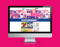 Redesign Site - Cuidados pela Vida 2015