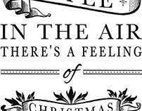 Typography Sample Christmas