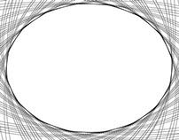 Black && White Ellipse Spirograph