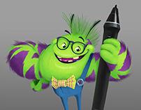 """""""Ike"""" The Brush Monster"""