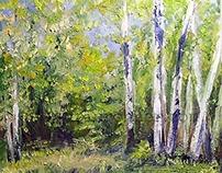 Nature Art Oil Paintings