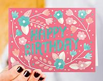 Help Ink Birthday Card