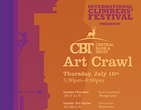 Art Crawl Poster