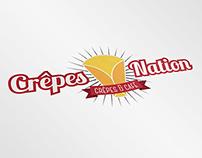 Crêpes Nation - Branding