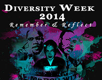 UCF Diversity Week Remember and Reflect Poster