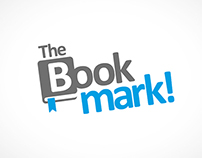 The Bookmark Logo Design