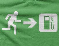 Pictogram Statement T-Shirts