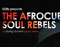 Music Poster - The Afrocuban Soul Rebels