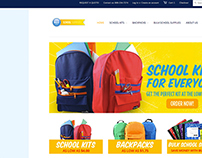 BLU School Supplies website