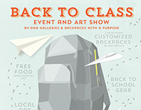 Back to Class - Event Poster