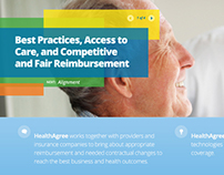 HealthAgree website