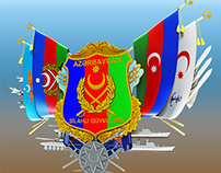 National symbol Azerbaijani Armed Forces