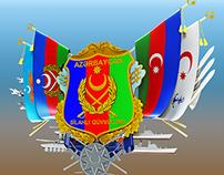 National symbol Azerbaijani Armed Forces