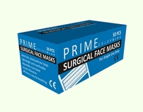 Package Design - Prime Surgical Face Masks