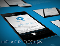 HP App Design