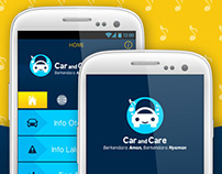 CAR and CARE - Mobile App