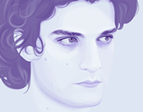 Portrait of Louis Garrel