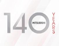 Mitsubishi 140 anniversary