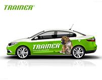 Company Car Sticker Design