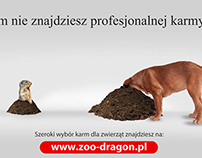 Pet Accessories On-Line Store Advertisement