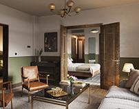 Hotel Sanders in Copenhagen (CGI)
