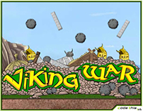Adobe Flash Game: Viking War