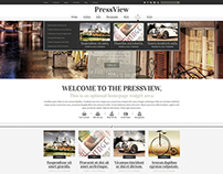 PressView PSD Template