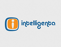 Intelligenta logo design
