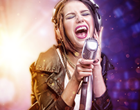 """""""Singer"""" photography&retouch"""