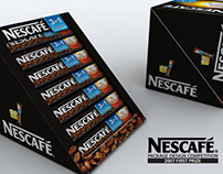 3in1 Stick package design for Nescafé